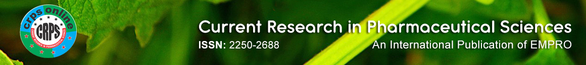 Current Research in Pharmaceutical Sciences